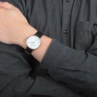 Zegarek męski Obaku Denmark pasek V181GDVWRB - duże 4