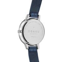 Zegarek damski Obaku Denmark bransoleta V209LXCLML - duże 3