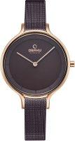 Zegarek damski Obaku Denmark bransoleta V228LXVNMN - duże 1