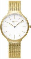 Zegarek damski Obaku Denmark bransoleta V240LXGWMG - duże 1