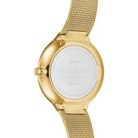 Zegarek damski Obaku Denmark bransoleta V240LXGWMG - duże 3
