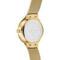 Zegarek damski Obaku Denmark bransoleta V241LXGWMG - duże 3