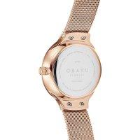 Zegarek damski Obaku Denmark bransoleta V241LXVWMV - duże 3