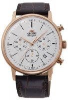 Zegarek męski Orient chronograph RA-KV0403S10B - duże 1