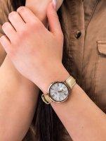 Zegarek różowe złoto klasyczny Casio Sheen SHE-3066PGL-7BUEF pasek - duże 3