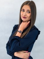 Zegarek różowe złoto klasyczny Esprit Damskie ES1L122M0065  bransoleta - duże 5