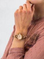 Zegarek różowe złoto klasyczny Fossil Georgia ES3262 pasek - duże 3