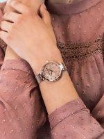 Zegarek różowe złoto klasyczny Jacques Lemans Classic 1-2001H bransoleta - duże 3