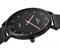 Zegarek damski Rubicon bransoleta RNBD76BIBZ03B1 - duże 2