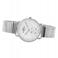 Zegarek damski Rubicon bransoleta RNBE29SISX03BX - duże 2