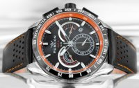 Zegarek męski Rubicon pasek RNCD55SIBR05BX - duże 2