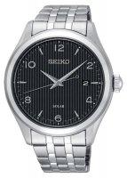Zegarek męski Seiko solar SNE489P1 - duże 1