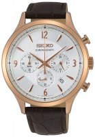 Zegarek męski Seiko chronograph SSB342P1 - duże 1