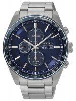 Zegarek męski Seiko chronograph SSC719P1 - duże 1