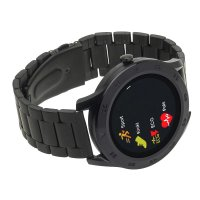 Zegarek sportowy Garett Smartbandy - Opaski sportowe 5903246287325 Smartwatch Garett GT22S RT czarny stalowy - duże 2