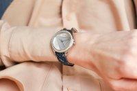 Zegarek srebrny fashion/modowy Guess Damskie W0884L10 pasek - duże 5