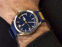 Zegarek srebrny fashion/modowy Lacoste Męskie 2011027 pasek - duże 4