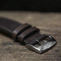 Zegarek srebrny klasyczny Atlantic Worldmaster 57750.41.65B pasek - duże 5