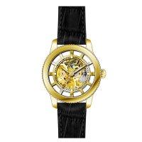 Zegarek srebrny klasyczny Invicta Vintage 22571 pasek - duże 5