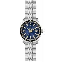 Zegarek srebrny klasyczny Invicta Vintage 29772 bransoleta - duże 2