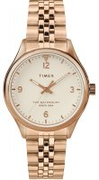 Zegarek damski Timex waterbury TW2T36500 - duże 1