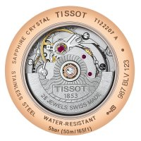 Zegarek damski Tissot carson automatic T122.207.36.031.00 - duże 2