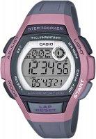 Zegarek damski Casio sportowe LWS-2000H-4AVEF - duże 1