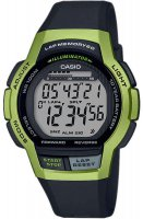 Zegarek unisex Casio klasyczne WS-1000H-3AVEF - duże 1