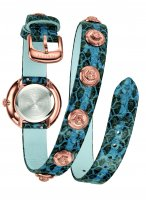 Zegarek damski Versace medusa stud icon VERF00418 - duże 2