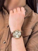 Zegarek złoty fashion/modowy Tommy Hilfiger Damskie 1781818 pasek - duże 3