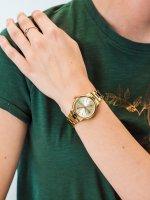 Zegarek złoty klasyczny Esprit Damskie ES1L181M0095 bransoleta - duże 5