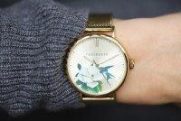 Zegarek złoty klasyczny Ted Baker bransoleta BKPPFF903 bransoleta - duże 5