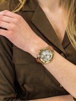 Zegarek złoty klasyczny Tommy Hilfiger Damskie 1781849 pasek - duże 3