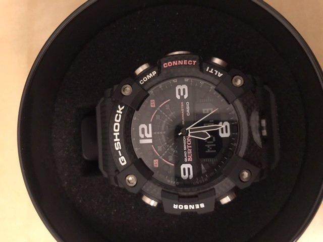 Zegarek G-Shock Casio Mudmaster Carbon Core G-SHOCK X BURTON - męski autor: Łukasz data: 11 marca 2020