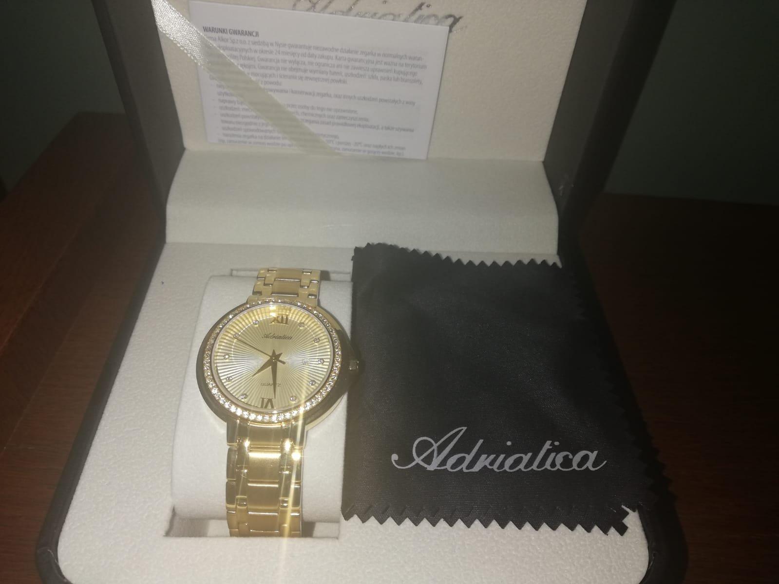 Zegarek Adriatica - damski autor: Maria data: 19 kwietnia 2020