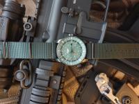 Zegarek Traser P68 Pathfinder GMT Green - męski  autor: Fryderyk data: 2 stycznia 2021